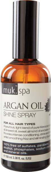 ARGAN OIL (óleo de argan) SHINE SPRAY (spray de brilho)
